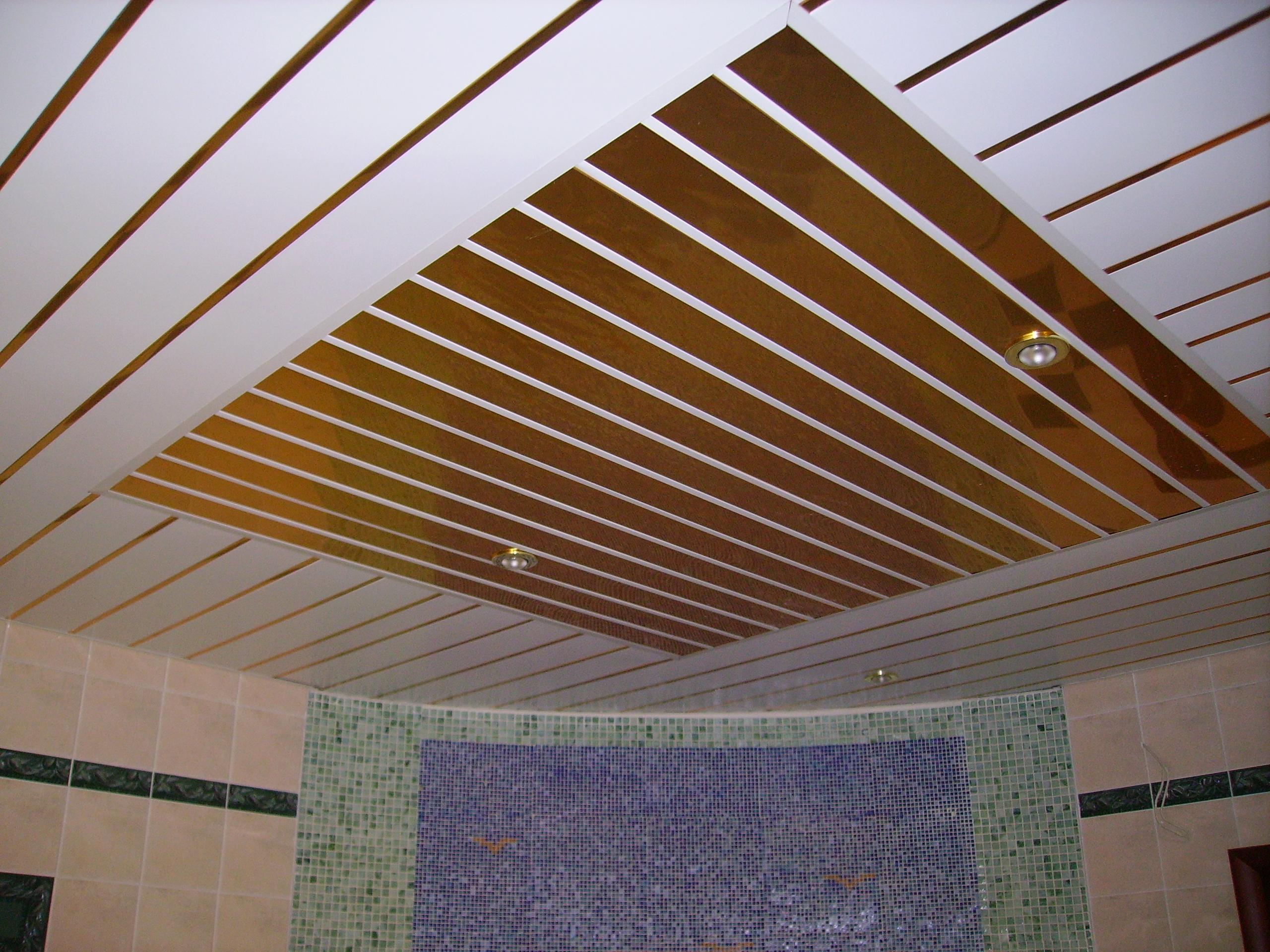 Деревянный потолок своими руками 11